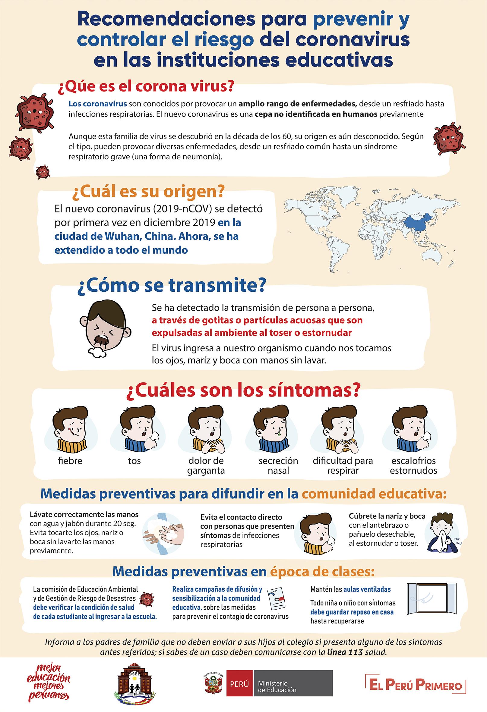Prevengamos el Coronavirus.