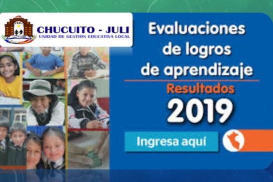 EVALUACIÓN DE LOGROS DE APRENDIZAJE 2019