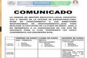 COMUNICADO A RESPONSABLES DE MANTENIMIENTO- 2020