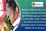 «LEEMOS JUNTOS» ESTRATEGIA QUE PROMOVERÁ LA LECTURA EN ESTUDIANTES